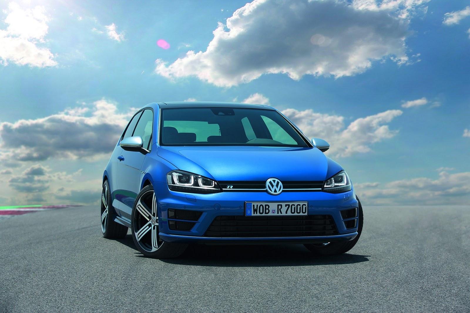 Volkswagen ra mắt mẫu Golf R 2014 [video]